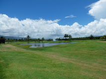 Golfsikt Arkivbilder