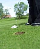 Golfsituation Lizenzfreie Stockfotografie