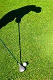 golfskugga Royaltyfria Foton