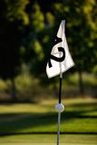 golfspel Fotografering för Bildbyråer