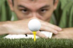 golfspelare arkivbilder