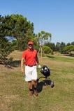 golfspelare Arkivfoton