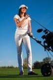 Golfspelare Royaltyfria Foton