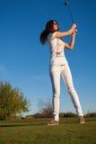 Golfspelare Royaltyfri Foto