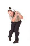 Golfspeler #10 Stock Fotografie