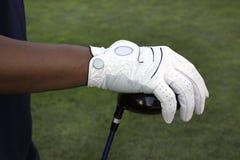 Golfspeler Stock Foto