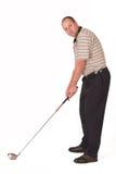 Golfspeler #3 Stock Foto