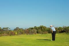 Golfspeler #39 royalty-vrije stock afbeelding