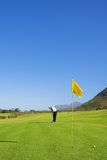 Golfspeler #44 royalty-vrije stock foto