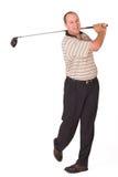 Golfspeler #7 Stock Afbeelding
