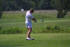 Golfspeler in Forest Park 2018 royalty-vrije stock afbeelding