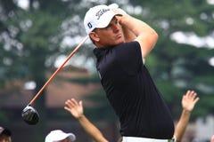 Golfspeler Robert Karlsson van Sweeden Stock Afbeeldingen