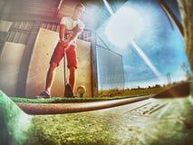 golfspelet arkivfoto