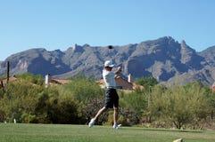 golfspelman royaltyfria foton