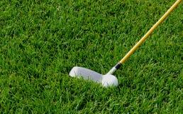 Golfspiel stock afbeelding