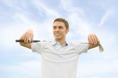 Golfspieler Lizenzfreie Stockfotos
