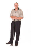 Golfspieler #2 Lizenzfreie Stockfotografie
