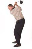 Golfspieler #4 Lizenzfreies Stockfoto