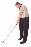 Golfspieler #5 Stockbild