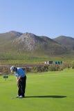 Golfspieler #52 lizenzfreie stockfotografie