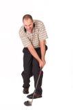 Golfspieler #9 Lizenzfreies Stockbild