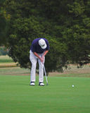 Golfspieler-Setzen Lizenzfreie Stockbilder