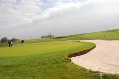 Golfspielplatz Lizenzfreie Stockbilder