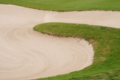 Golfspielplatz Stockfotografie