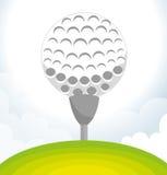 Golfsportdesign Royaltyfria Bilder