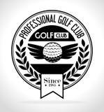 Golfsportdesign Arkivbilder