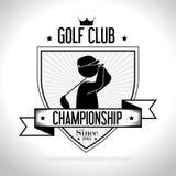 Golfsportdesign Royaltyfria Foton
