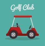 Golfsportdesign Arkivfoto