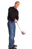 golfswing Arkivbilder