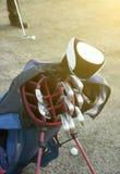 Golftasche Stockbild