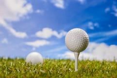 Golfthema Royalty-vrije Stock Afbeeldingen