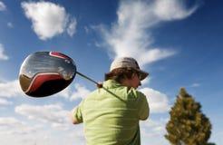 Golftreiber stockfotos