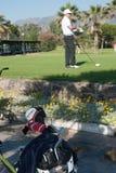 Golfturnering på Costa del Sol, Malaga, Spanien Fotografering för Bildbyråer