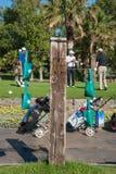 Golfturnering på Costa del Sol, Malaga, Spanien Royaltyfria Foton