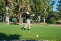 Golfturnering på Costa del Sol, Malaga, Spanien Arkivfoton