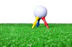 Golfutslagsplats Arkivbild