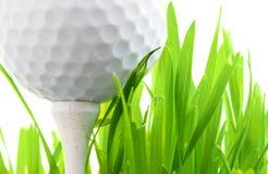 golfutslagsplats Royaltyfri Fotografi