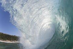 Golfwater Royalty-vrije Stock Afbeelding