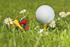 Golfzeit Stockfoto