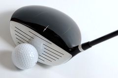 Golg clubs. Golf clubs on white background Stock Images