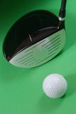 Golg clubs. Golf clubs on white background Stock Photos