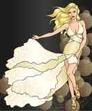 Golg dress Royalty Free Stock Image