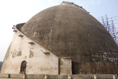 Golghar Granary in Patna India. This is the Granary of Patna built by the British in the 1700s to fight against famine it is now a tourist site. The unique dome royalty free stock photo