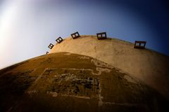 Golghar, Patna, il Bihar, India, Asia Fotografia Stock Libera da Diritti