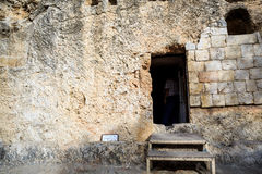 Golghota known as Garden Tomb, Jerusalem, Israel. Middle East stock photography