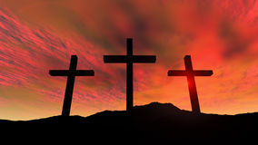 Golgotha Stock Photos
